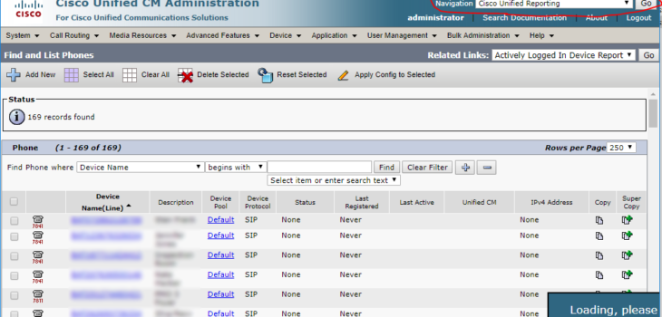 Cisco Unified Reporting (Phone Call Report) Cisco Reporting 1 730x350